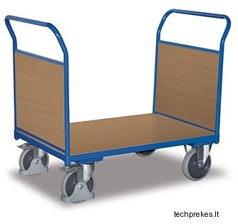 Sisteminis vežimėlis su dviems MDF bortais 1390x800 mm