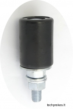 Kreipiantysis prilaikantis 25 mm diametro ratukas su varžtu (be guolio)