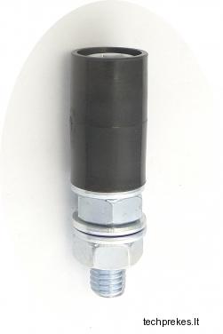 Kreipiantysis prilaikantis 20 mm diametro ratukas su varžtu (be guolio)